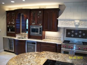 Katy TX All Wood Kitchen Cabinets