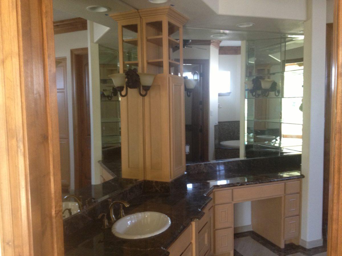Houston bathroom cabinets custom vanity units amish - Custom bathroom vanities houston ...