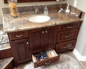 Katy TX bathroom vanity cabinets