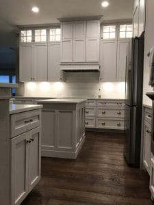 Wood Kitchen Cabinet Installation