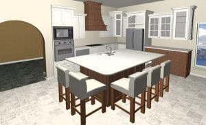Houston TX affordable custom cabinets
