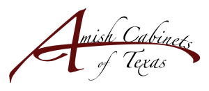Houston TX Amish corner cabinet