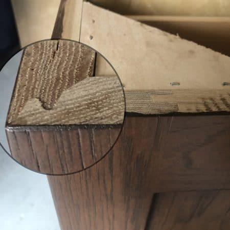 Custom-miter-lock-joint