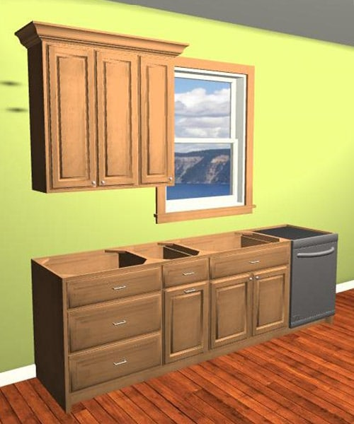 Custom Cabinet Doors On