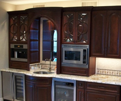 Custom kitchen cabinets gallery
