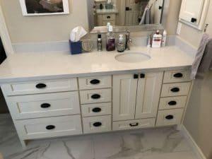 Houston TX amish bathroom vanity cabinets